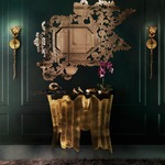 Flora Wall Sconce by Koket