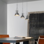 Flute Multi Light Pendant by Fontana Arte