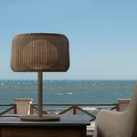 Fora Outdoor Table Lamp by Bover
