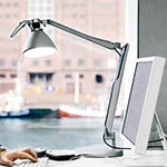 Fortebraccio Desk Lamp by Luce Plan