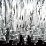 Frou Frou Wall Sconce - Chrome / Crystal