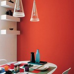 Fucsia 1 Light Pendant -  /