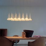 Fucsia 12 Light Suspension -  /