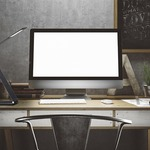 Fusion Z Task Lamp with Dimmer by Savoy House