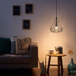 Gabbia Triangle Pendant by Philips Consumer Lighting