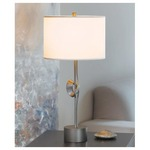 Gallery Single Twist Table Lamp -