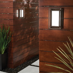Outline Outdoor LED Wall Sconce -