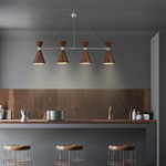 Conic Linear Chandelier -
