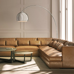 Georges Reading Room Arc Floor Lamp -