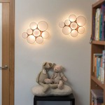 Gluc Wall/ Ceiling Light by Arturo Alvarez