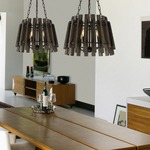 Glades Wood Pendant by Savoy House