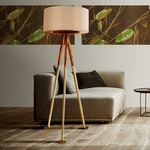 Gold Scales Floor Lamp by Lightology Collection