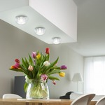 Gracie Hemisphere Ceiling Flush / Wall Light by Stone Lighting