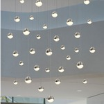 Grapes 24 Light Round Pendant by SONNEMAN - A Way of Light