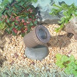 UWUL516 Halogen Composite Underwater Fixture - Bronze /