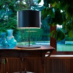Half Moon Table Lamp by Lightology Collection