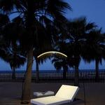 Halley Arc Outdoor Floor Lamp -  /