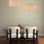 Harvest Drum Pendant by Adesso Corp.