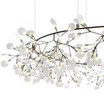 Heracleum The Big O Chandelier - Copper / White