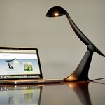 Heron Task Lamp by Little Footprint