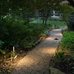 Hardy Island 12V Round Side Mount Path Light -