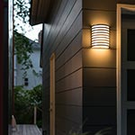 Bilbao Outdoor Wall Sconce  | by AFX