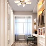 Fiori Semi Flush Ceiling Light -
