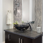 Rock Crystal Double Wall Sconce -