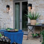 Shelter 120V Outdoor Wall Sconce -