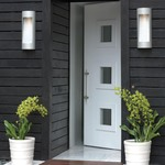 Luna Rounded Outdoor Wall Sconce -