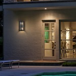 Hoboken Indoor/Outdoor Wall Sconce by Troy Lighting