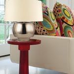 Holden Table Lamp - Distressed Bronze / Cream