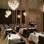 Hollywood Round Glass Chandelier -  /