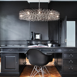 Hollywood Oval Chandelier -