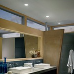 LEDme 4 inch Recessed Shower Trim by WAC Lighting