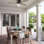 Cedar Key Indoor/Outdoor Ceiling Fan with Light -
