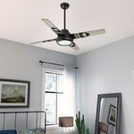 Spider Rock Ceiling Fan with Light -