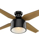 cranbrook low profile ceiling fan with light mint - Low Profile Ceiling Fan