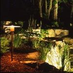 Fern Lite Halogen Inground Light - Copper  /