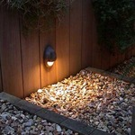 Mouse Halogen Step Light - Solid Bronze /
