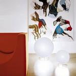 Iceglobe Table/Floor Lamp by Lumen Center Italia