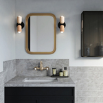 Ceramic Up Down Wall Sconce -