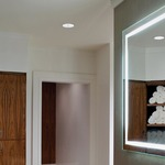 Integrity Rectangle Lighted Mirror -  / Mirror