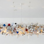 Invisible Chandelier - White /