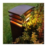 Irony Outdoor Path Light by Lightology Collection