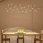 Jackie O Multi-Light LED Pendant -  /