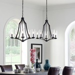Jacksboro Chandelier by Feiss