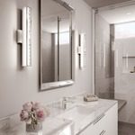 Jessie Bathroom Vanity Light by Feiss