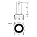 J6RL Retrofit Downlight Trim Insert -  /