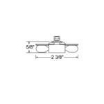 TL202 Wedge Base Dual Xenon Lamp Holder -  /